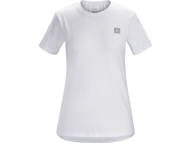 Arc'teryx A Squared Camiseta Manga Corta Mujer, white